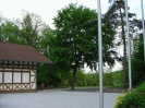 Der Hof vor dem Schützenhaus